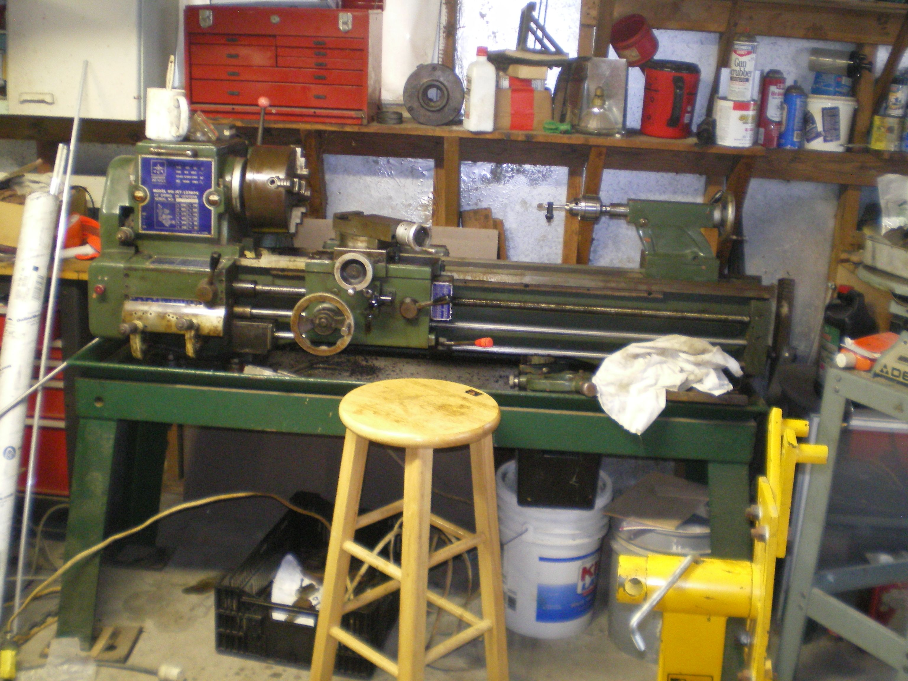 Lathe HT machinery in use  at readyjetset.co